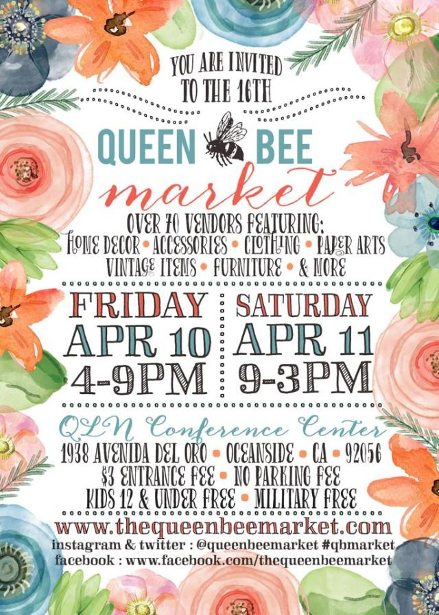 Queen Bee Market Spring 2015