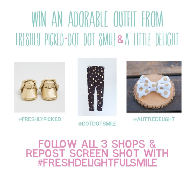 Instagram Giveaway , A Little Delight , Dot Dot Smile, Freshly Picked