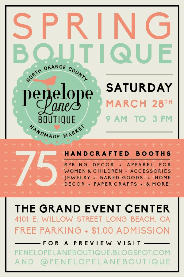 Penelope Lane Boutique Spring 2015