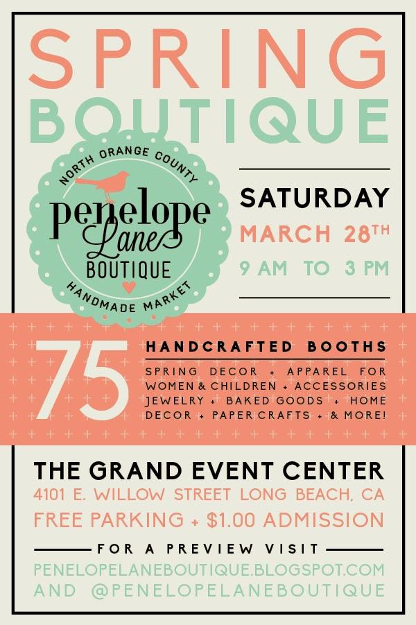 Penelope Lane Boutique Spring 2015